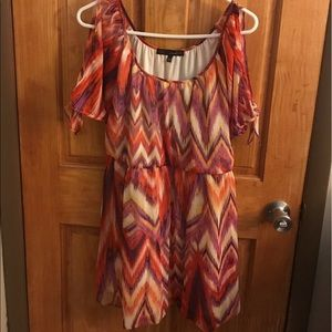 HeartSoul Dress with Cold Shoulder Sleeves